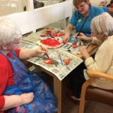 Valentine's Day at Springhill Care Home