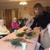 Floral festivities get underway at Riversway Nursing Home
