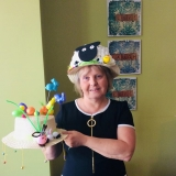 Easter hats on show
