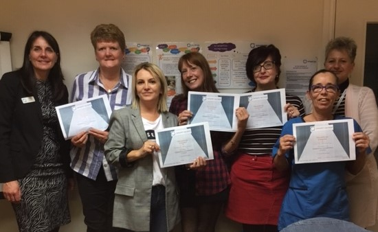 47911582379 Staff at Springhill Care Home know what it feels like to be  Dementia  Champions  after completing their training.